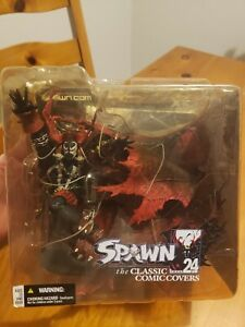 2003 Mcfarlane Toys - Spawn Series 24 Classic Comic Covers Issue I.43  (NEW)