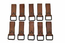 10x Koppelschlaufe, Koppel, Schlaufe, Leder,