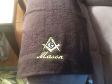 MASON SQUARE EMBROIDERED HAND TOWEL