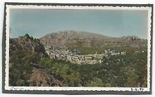 D115 Photo vintage Originale tinted colorisé Saorge Alpes-Maritimes