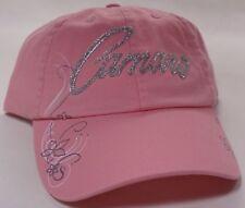 Hat Cap Chevrolet Chevy Camaro Ladies Bedazzled Pink JR
