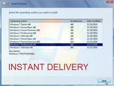Windows 7 SP1 todas las versiones de 32/64 bits-archivo maestro ISO (entrega Inmediata)