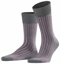 Falke Mens Shadow Midcalf Socks - Grey/Rose Pink