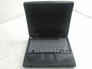 "Compaq Armada 1750 14.1"" Retro Gaming Laptop Pentium II 64MB 0HD Boots"
