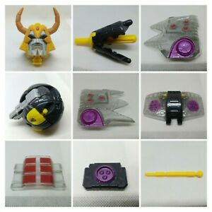 Transformers ARMADA UNICRON PARTS Chest ABS Waist ARMOR Shield FLAPS Missiles ++