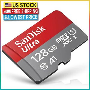 SanDisk Micro SD Card 128GB Ultra Memory Card Android iPhone Nintendo Switch DJI