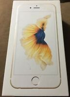 Apple iPhone 6s Gold Original Genuine UK Spec Empty Box. No Phone