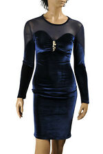 "Roberto Cavalli Long Coctail Evening Dress Designer #304 Size ""S"""
