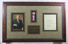 Dwight D. Eisenhower - Typed Letter Signed as President; TLS, Framed, Autograph