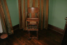 Antique Oak Highchair/Stroller/Rocker Circa 1800s. Fully Restored