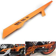Orange CNC Rear Chain Guard Cover Protector For KTM Duke 125 200 390 2011-2016