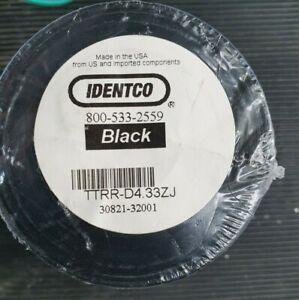 Identco TTRR-D4.33ZJ Black Resin Ribbon (in10s3)