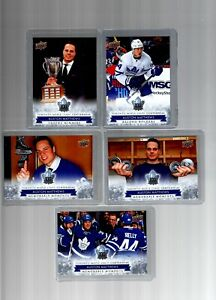 2017-18 Toronto Maple Leafs Centennial 200 card Set Pack Fresh