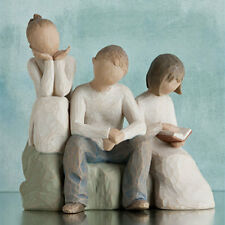 Willow Tree Brother with Two Sisters Figurine Gift Set Family Group