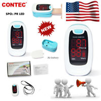 LED FingerTip Pulse Oximeter Blood Oxygen SPO2 Heart Rate Patient Monitor NEWEST