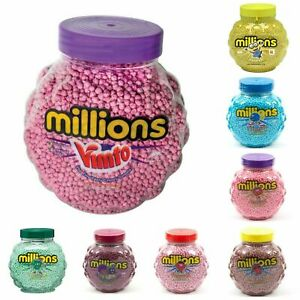 Millions Chewy Sweets Pick n Mix Candy Treats Vegetarian Vegan Party Cone Filler