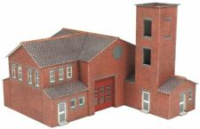 METCALFE PN189 1:148 N SCALE Modern Fire Station Card Kit