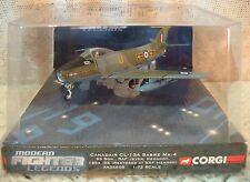 Corgi Canadair CL-13A Sabre Mk.4 RAF 93 Squadron Jever Germany Die-Cast 1:72 NEW