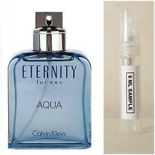 Eternity Aqua by Calvin Klein EDT Cologne Spray For Men  * 5ml Sample Sprayer *