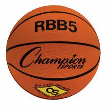 "Champion Sports Pro Heavy Duty Mini Size 3 Rubber 23"" Basketball, Orange, Rbb5"