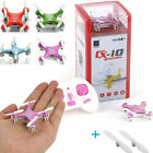 Cheerson CX-10 2.4G Aircraft GYRO Mini RC Quadcopter LED UFO Drone Helicopter US