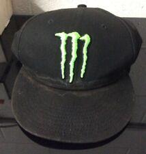 Monster Energy New Era Snapback Hat 2017 WORN *SEE PICS*