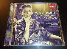 "MARIA CALLAS ""Vissi D'Arte: Puccini Love Songs"" (2-CD 2008) 25-Tracks EXCELLENT"