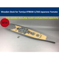 Wooden Deck for Tamiya 78030 1/350 Scale Japanese Battleship Yamato Model