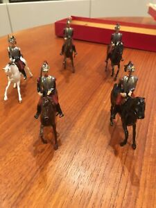 Britains Vintage lead toy soldiers French Cuirassiers Cavalry no. 138
