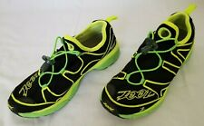 Mens Size 9 Black Yellow Green Zoot Ultra Kalani 3.0 Running Shoes preowned