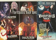 VAMPIRES ROCK THE MUSICAL UK TOUR 2014/15 -  PROMOTIONAL FLYER BUY 2 GET 1 FREE!