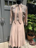 1940s  1950s Vintage Western Cowgirl Gene Rogers Juniors vintage dress