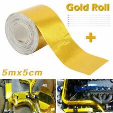 15ft Gold Roll Aluminum Foil Reflective High Temperature Heat Shield Wrap Tape