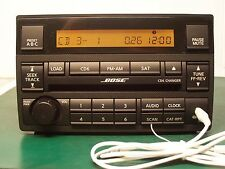 05-06 NISSAN Bose ALTIMA RADIO 6 CD Changer AUX Input 28185-ZB20B
