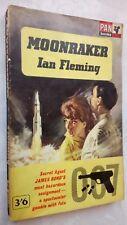 JAMES BOND MOONRAKER BY IAN FLEMING 1ST/12TH PAN S/B 1963 SEAN CONNERY MENTION