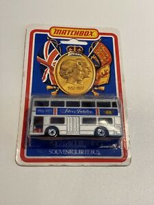 Matchbox Superfast No.17 The Londoner Silver Jubilee Souvenir Bus Sealed
