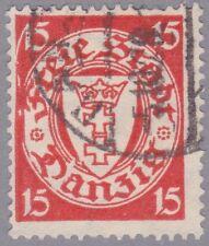 Danzig Mi.Nr. 214 x I gestempelt und geprüft