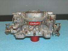 Edelbrock AFB 4 Barrel Carburetor 600 CFM Carb 1405 Core for Rebuilding w/Choke