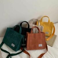 Women Zipper Shoulder Bag Cotton Handbag Female Crossbody Fashion Messenger Bags