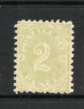 NEW SOUTH WALES 1891-92   2d   POSTAGE DUE    MLH  P10   SG D3