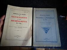 Bulletin de la Société des Naturalistes et Archéologues de l Ain 1940-48-