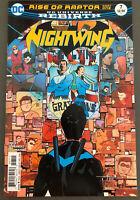 DC Comics Nightwing Rebirth #7 Dick Grayson Batman Bludhaven Raptor 2016 NM
