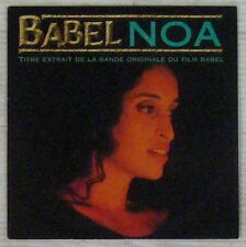 Babel CD single Noa 1999