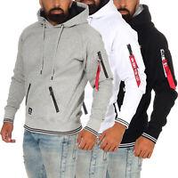 Alpha Industries Herren Hoodie Hoody Kapuzenpullover Pullover Sweatshirt 198355