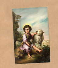 Early 1900's Art Card Misch &Co 1104 The Divine Shepherd by Murrillo  br2