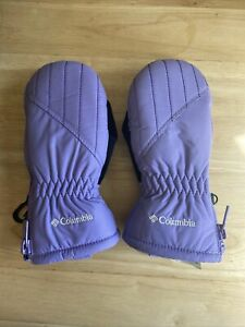 Columbia Toddler Girl Snow Mittens One Size Purple