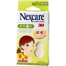 【NEXCARE 3M】ACNE CARE DRESSING 40% ULTRA THIN PIMPLE STICKERS PATCH (18pcs)