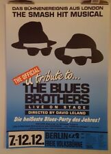 Blues Brothers tribute musical Original poster