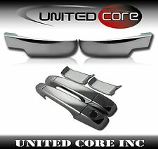 Chevy Silverado Chrome Mirror Cover Chrome Door Handle Cover 2 Door 07-13