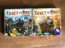 Ticket To Ride Original  Europe Strategy Board Tabletop Games Fun Table Game